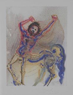 Dalinean Horses   Le Centaur De Crete (the Centaur 1972 Limited Edition Print by Salvador Dali
