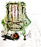 Imaginations and Objects of The Future, Breathing Pneumatic Armchair 1975 Limited Edition Print by Salvador Dali - 0