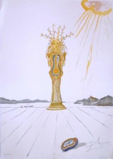 Barometer Woman 1976 Limited Edition Print by Salvador Dali