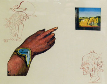 Reflection  One of Three From the Cycles of Life 1979 Limited Edition Print by Salvador Dali