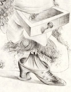 Le Bureaucrate 1969 (early) Limited Edition Print - Salvador Dali