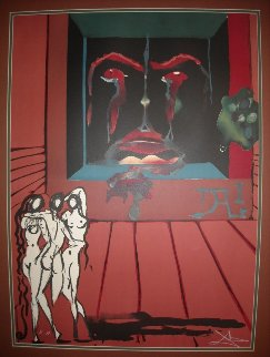 Obsession of the Heart EA 1976 Limited Edition Print - Salvador Dali