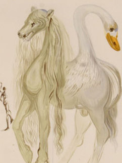 Le Chimere D'horace From Dalinean Horses 1972 Limited Edition Print - Salvador Dali