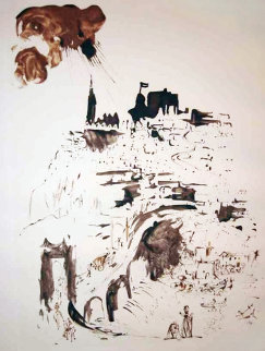 Toledo, Spain 1970 Limited Edition Print by Salvador Dali