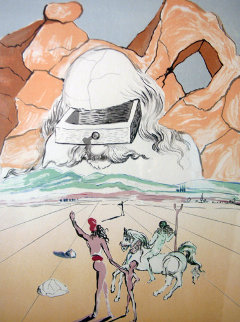 Retrospective Suite of 4 Lithographs 1978 Limited Edition Print - Salvador Dali