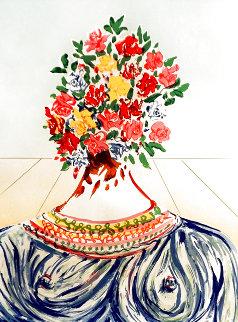 Retrospective Flowering of Inspiration 1978 Limited Edition Print - Salvador Dali