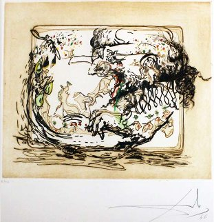 Tauramachie Surrealiste Rare Suite of 7, 1967 (Early)  Limited Edition Print - Salvador Dali