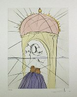 Museum of Genius And Whimsy 1974 Limited Edition Print by Salvador Dali - 1