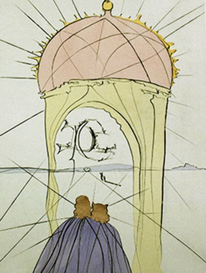 Museum of Genius And Whimsy 1974 Limited Edition Print by Salvador Dali