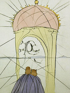 Museum of Genius And Whimsy 1974 Limited Edition Print - Salvador Dali