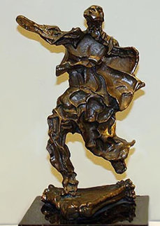 Alma Del Quijote Bronze Sculpture 14 in Sculpture - Salvador Dali