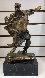Alma Del Quijote Bronze Sculpture 14 in Sculpture by Salvador Dali - 1