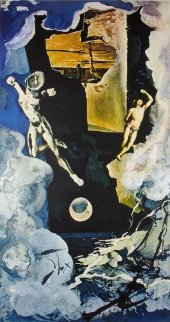 Tower, From Tarot Suite Limited Edition Print - Salvador Dali