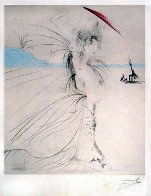 Les Aigrettes (The Egrets) 1969 (Early) Limited Edition Print by Salvador Dali - 1