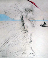 Les Aigrettes (The Egrets) 1969 (Early) Limited Edition Print by Salvador Dali - 0