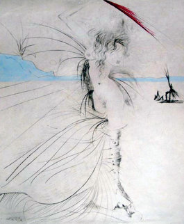 Les Aigrettes (The Egrets) 1969 (Early) Limited Edition Print by Salvador Dali
