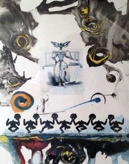 Memories of Surrealism: Surrealist Gastronomy 1971 Limited Edition Print by Salvador Dali