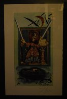 Two of Swords Tarot Card 1978 Limited Edition Print by Salvador Dali - 2