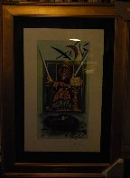 Two of Swords Tarot Card 1978 Limited Edition Print by Salvador Dali - 3