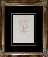 Moshe Dayan 1968 (Early) Limited Edition Print by Salvador Dali - 2