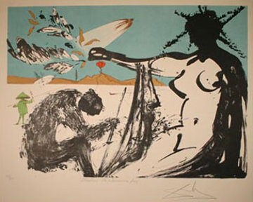 Prisoners are Free! Liberation 1974 Limited Edition Print - Salvador Dali