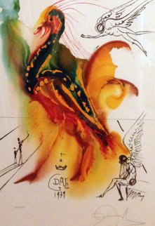Le Grand Pavon 1972 Limited Edition Print - Salvador Dali