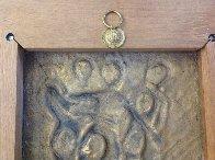 Three Graces Bas Relief Bronze Sculpture 1977 Sculpture by Salvador Dali - 4