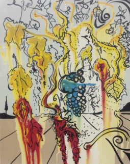 Portrait of Autumn 1980 Limited Edition Print - Salvador Dali