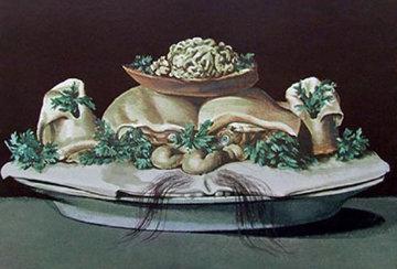 Diners de Gala: Supremes of Lilliputian Malaises 1971 Limited Edition Print by Salvador Dali