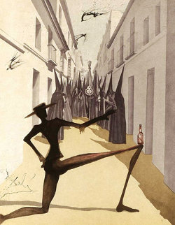 Bird Has Flown from Carmen Suite AP 1970 Limited Edition Print by Salvador Dali