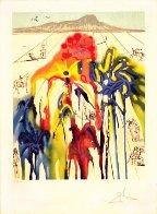 Diamond Head 1980 Limited Edition Print by Salvador Dali - 1