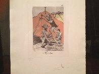 Ni Por Esas, From Caprices De Goya 1977 Limited Edition Print by Salvador Dali - 2