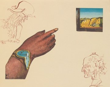 Cycles of Life - Portfolio Suite of 3 Etchings 1979 Limited Edition Print by Salvador Dali