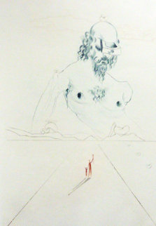 Le Colosse 1972 Limited Edition Print by Salvador Dali