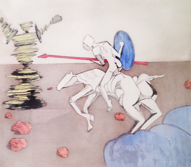 Quest 1981 Limited Edition Print by Salvador Dali
