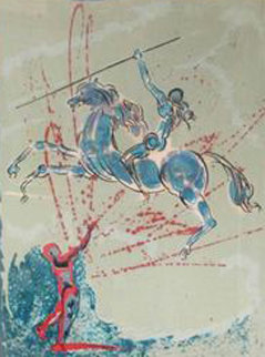 Joan of Arc 1977 Limited Edition Print - Salvador Dali