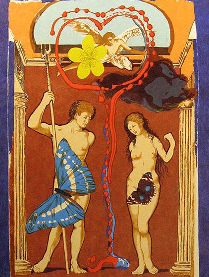 Triumph D l'Amour - Suite of 2 1977 Limited Edition Print by Salvador Dali