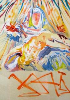 La Pieta Nera 1973 Limited Edition Print by Salvador Dali
