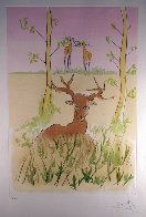 Le Cerf Malade 1974 Limited Edition Print by Salvador Dali - 1