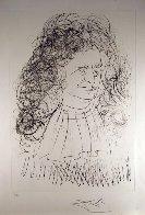 Le Portrait De La Fontaine 1974 Limited Edition Print by Salvador Dali - 1