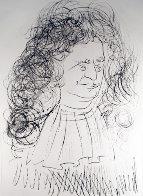 Le Portrait De La Fontaine 1974 Limited Edition Print by Salvador Dali - 0