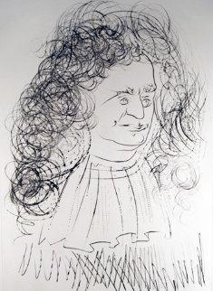 Le Portrait De La Fontaine 1974 Limited Edition Print - Salvador Dali