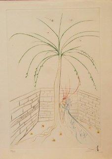 La Quete Du Graal 1975 Limited Edition Print by Salvador Dali