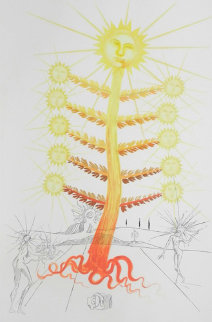Flora Dalinae Sun 1968 (Early) Limited Edition Print by Salvador Dali