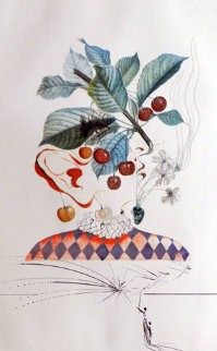 Flordali / Les Fruits Cherries 1969 (Early) Limited Edition Print - Salvador Dali