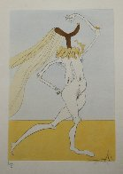 Visions De Quedo ( Nude With Veils) Limited Edition Print by Salvador Dali - 1