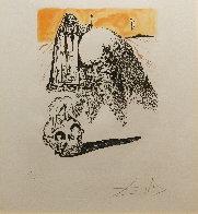 La Vida Es Sueno Viellart Tete De Mort 1973 Limited Edition Print by Salvador Dali - 1