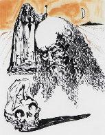 La Vida Es Sueno Viellart Tete De Mort 1973 Limited Edition Print by Salvador Dali - 0