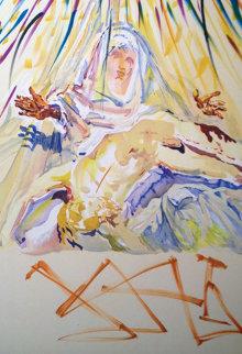 La Pieta 1974 Limited Edition Print by Salvador Dali