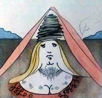 Lady Dulcinea 1980 Limited Edition Print - Salvador Dali